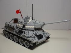 танк из конструктора лего lego