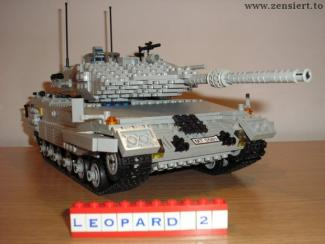 танк из конструктора lego