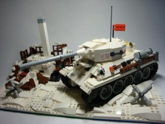 танк lego