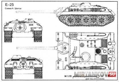Обзор E-25 - смертельный клоп - WOT DIGEST