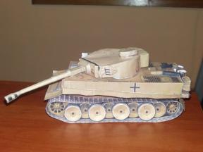 как сделать танк из бумаги своими руками фото инструкция - фото 3