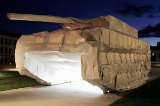 модели танков из бумаги