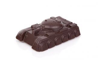 танк из шоколада