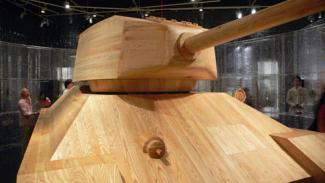 как сделать танк +из дерева