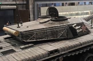 танк из гильз в китае