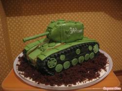 танк торт